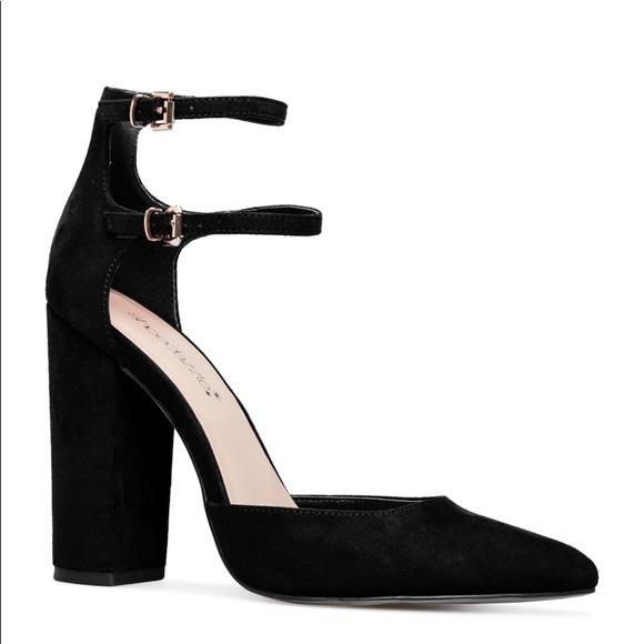 a274e0e3433 Pointed Toe Block Heel Pumps. Size 7.5 NWT